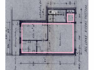 Winkelruimte St. Annastraat 8 Breda plattegrond