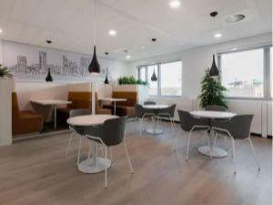 World Forum lounge/werkgelegenheid
